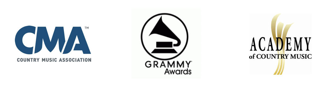 Country Music Association, Grammy Awards and Academy of Country Music